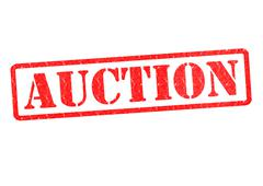 AUCTION Stock Illustration