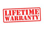 Stock Illustration of LIFETIME WARRANTY