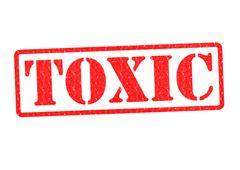 Stock Illustration of TOXIC