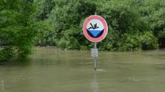 Flood risk Stock Footage