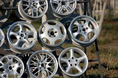 rims - stock photo