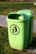 dustbin - stock photo