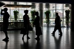 terminal - stock photo