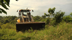 Deforestation Urbanization 01 - stock footage