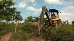 Deforestation Urbanization 02 - stock footage