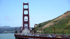 Time Lapse Golden Gate Bridge San Francisco Stock Footage