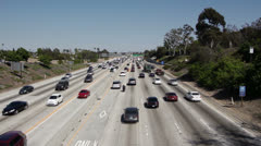 405 Freeway Stock Footage