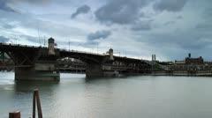 Burnside Bridge Stock Footage