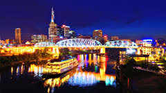 Nashville, Tennessee, USA - stock footage