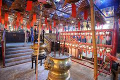 Man mo temple Stock Photos