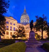 Georgia state capitol Stock Photos