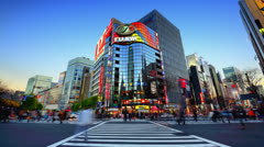 Ginza Stock Footage