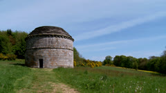 Pigeonnier or pigeon house in rural France Stock Footage