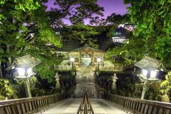 narita shrine - stock photo