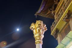 Jingan temple shanghai Stock Photos