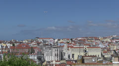 Downtown Lisbon Stock Footage