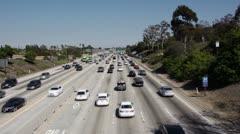 Freeway Traffic Stock Footage