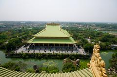 vietnam pagoda - stock photo