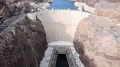 Hoover Dam Daytime Stock Footage