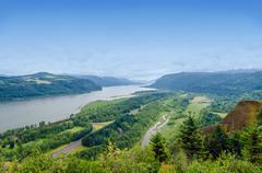 Stock Photo of Columbia River Gorge