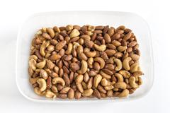 Stock Photo of Mixed Nuts