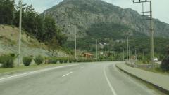 Roads from Turkey Stock Footage