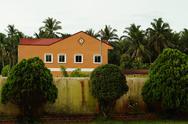 Walled Villa Stock Photos