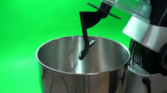 Mixing A Cake Batter Fast Stock Footage