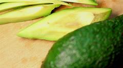 avocado turns - stock footage