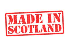 Stock Illustration of MADE IN SCOTLAND