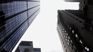 Stock Video Footage of nyc skyscrapers skyline