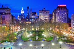 Union square new york city Stock Photos