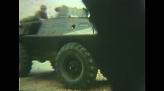 Vietnam War - Tet Offensive - Vietcongs Greifen An 01 Stock Footage