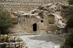 Place of the resurrection of jesus christ Stock Photos
