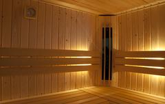 infra red sauna - stock photo