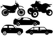 Stock Illustration of Illustration Of A Different Automobile