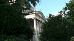 The Pushkin Museum of Fine Arts. Moscow, Russia. Stock Footage