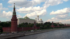 Moscow Kremlin. Russia Stock Footage