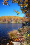 Syksy vuori järvi Kuvituskuvat