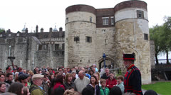 Tower of London 10 Stock Footage