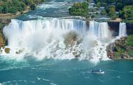 Stock Photo of niagara falls panorama