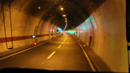 Stock Video Footage of Driving in tunnel