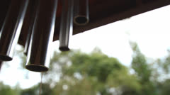 Wind-chimes Stock Footage