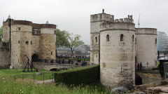 Tower of London 5 Stock Footage