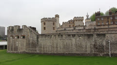 Tower of London 4 Stock Footage