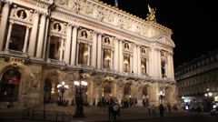 Opéra Garnier, Paris Stock Footage