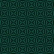 Sunbeams in Greens tiled - stock illustration