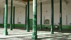 Salah hall in Id Kah Mosque, the famous islamic mosque in Kashgar Stock Photos