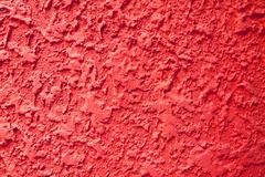 Red rough wall texture Stock Photos