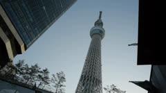 Tokyo Sky Tree 4 Stock Footage